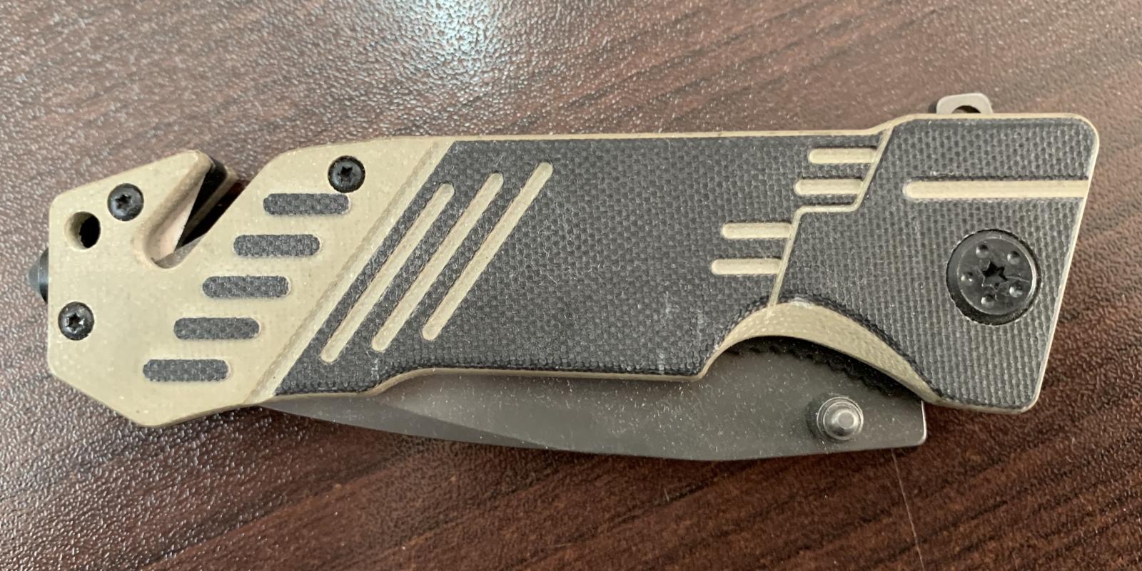 Тактический складной нож Amphion