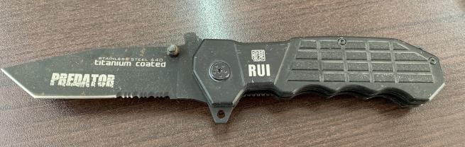 Тактический складной нож Titanium Coated