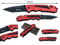 Тактический складной нож Wartech PWT215RD (красный)