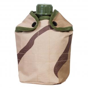 Тактический термочехол на флягу (камуфляж 3-Color Desert Camo) недорого