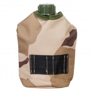 Тактический термочехол на флягу (камуфляж 3-Color Desert Camo) с доставкой