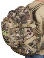 Тактический вместительный рюкзак с нашивкой Герб России