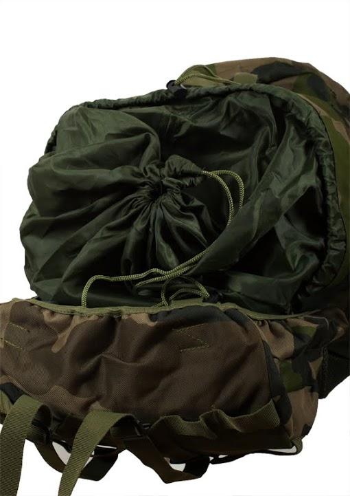 Тактический вместительный рюкзак с нашивкой МВД - купить в розницу