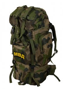 Тактический вместительный рюкзак с нашивкой МВД - купить в подарок