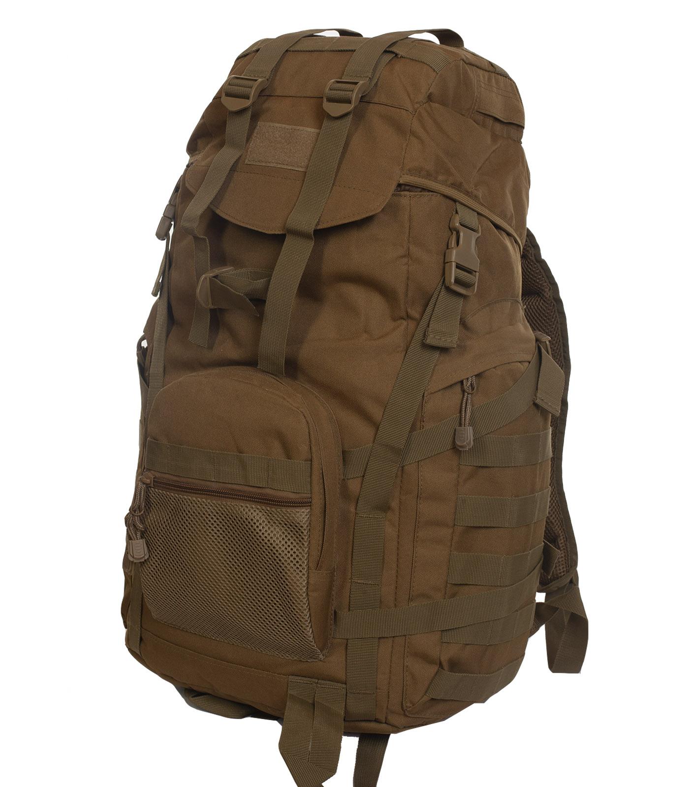 Тактический военный рюкзак (хаки-песок)