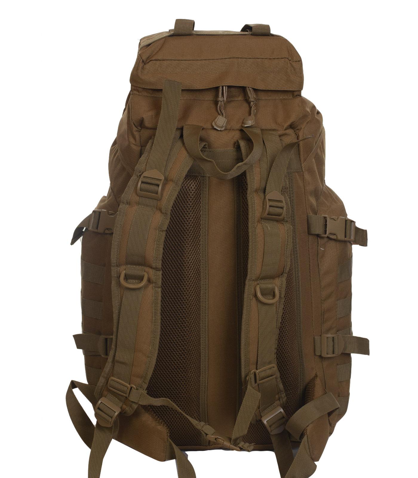 Тактический военный рюкзак (хаки-песок) с доставкой по России