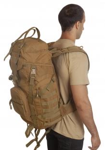 Тактический военный рюкзак (хаки-песок) недорого