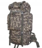 Тактический военный рюкзак с клапаном от дождя