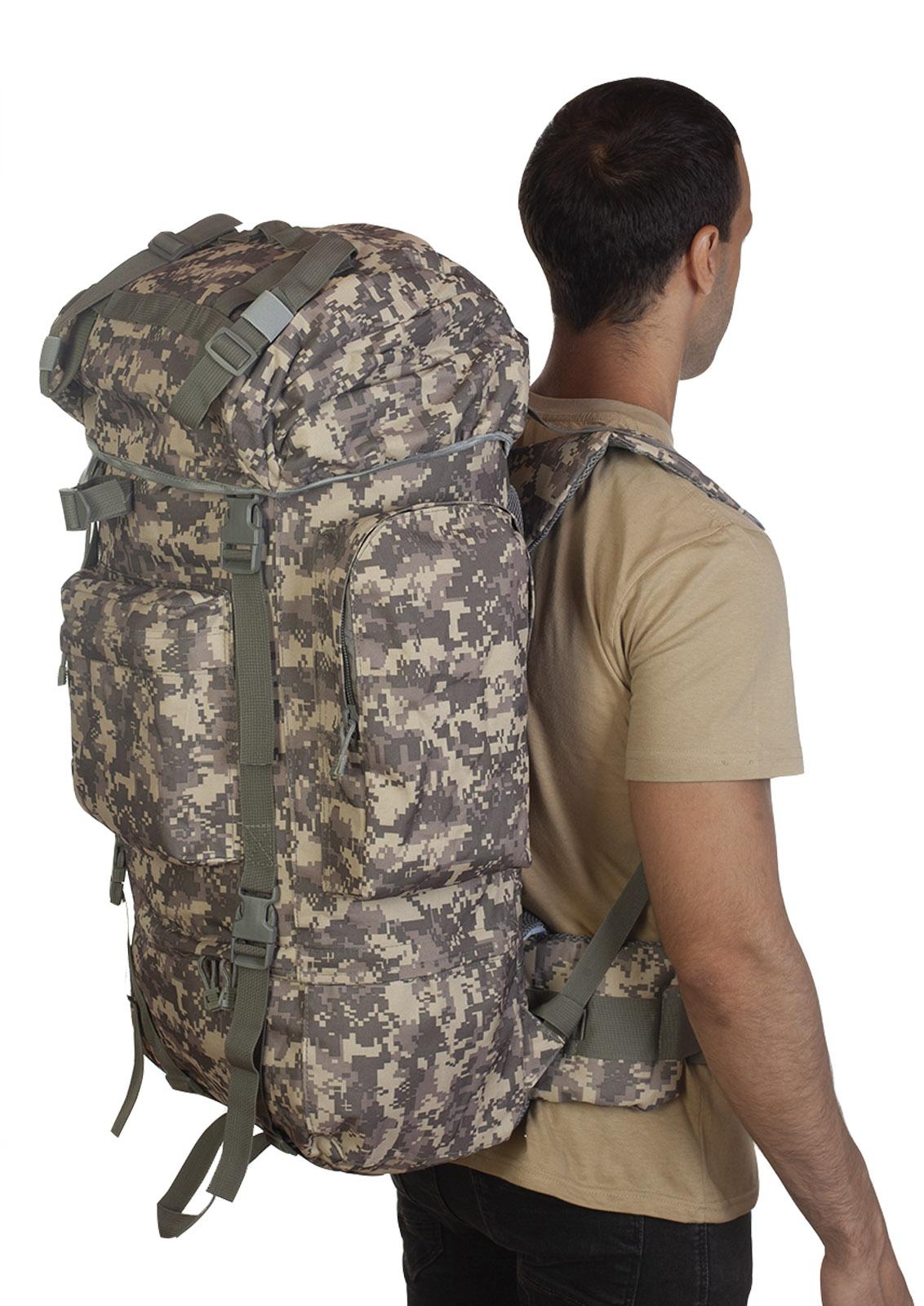 Тактический военный рюкзак с клапаном от дождя с доставкой по России