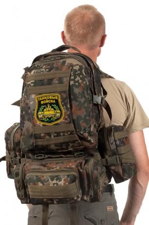 Тактический заплечный рюкзак с нашивкой Танковые Войска