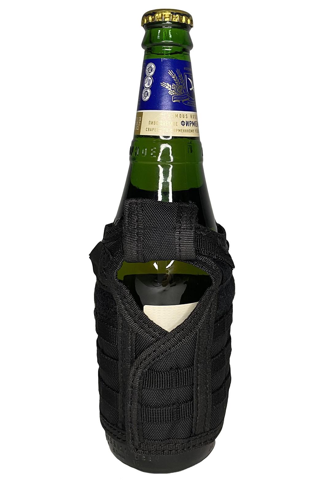 Тактический жилет для бутылок (черный)