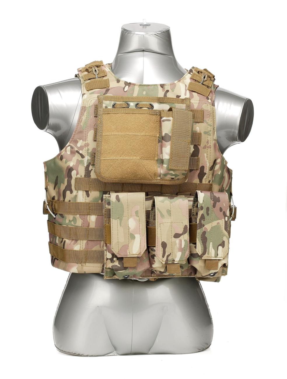 Тактический жилет-разгрузка с возможностью вставки бронепластин недорого