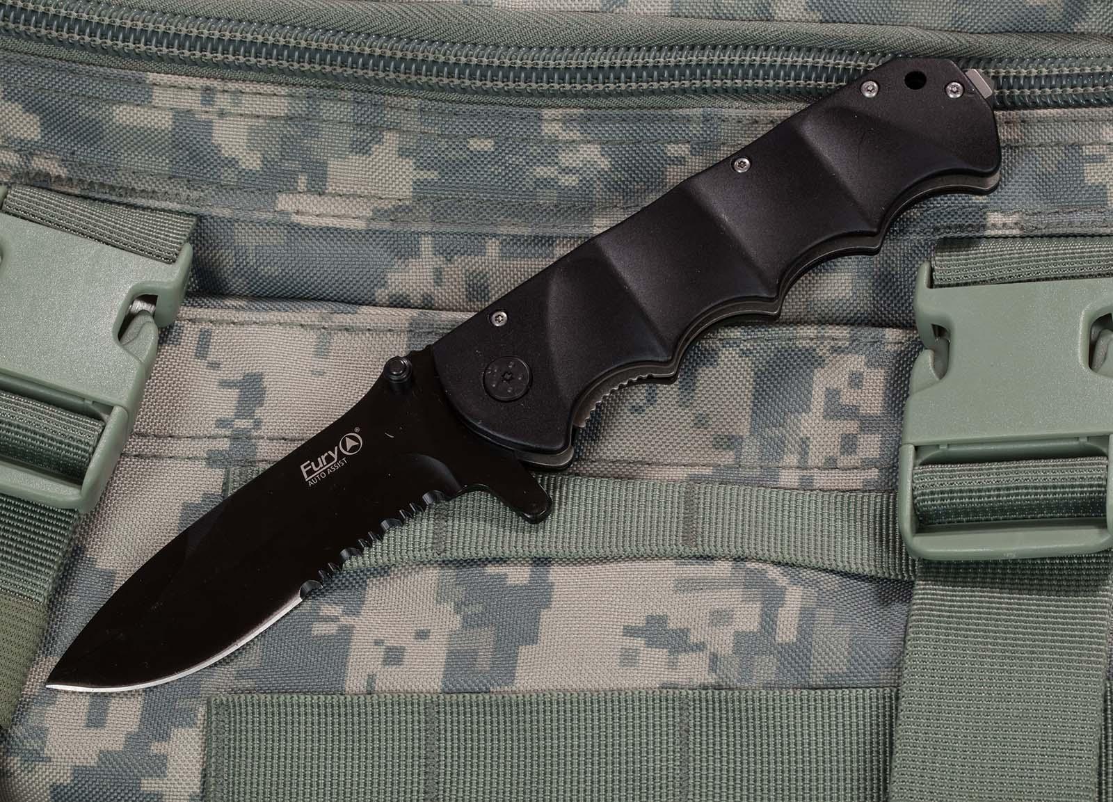 Тактическо-спасательный нож Fury Knives Tactical 99104 EMS - заказать онлайн