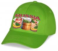Такую кепку с принтом «Russia» Матрешки, которые парятся в бане, Вы не найдете ни где, кроме как у нас в Военпро. Купите и Вы никогда с ней не расстанетесь!