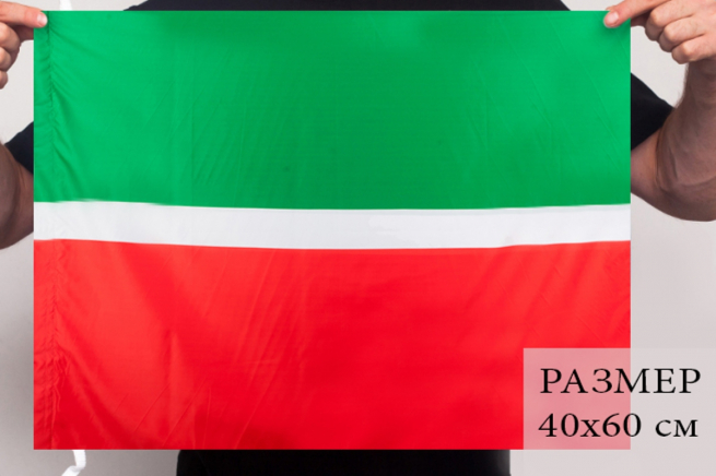 Татарстанский флаг 40x60 см