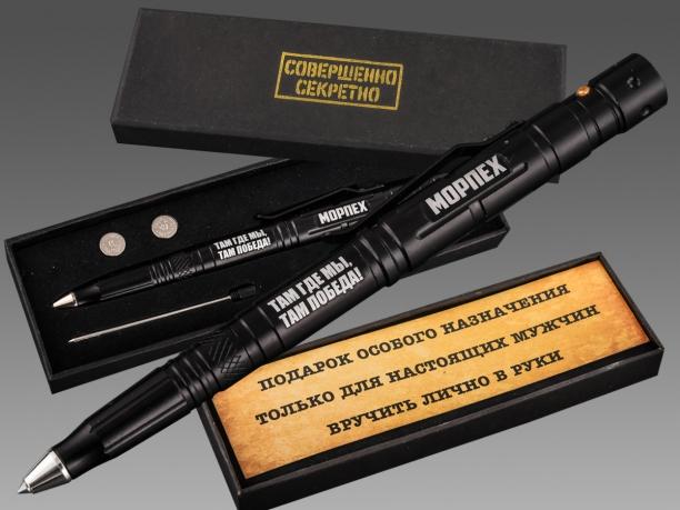 Технологичная тактическая ручка МОРПЕХ.