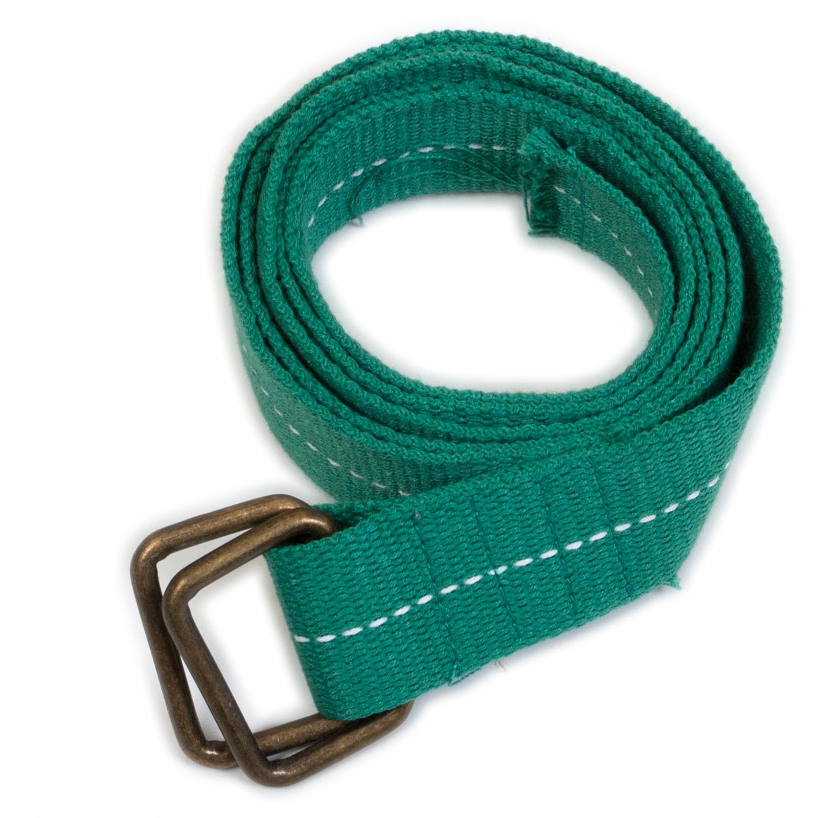 Текстильный ремень зеленый - купить онлайн