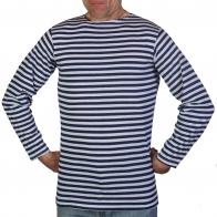 Тельняшка мужская с длинным рукавом (синяя полоса)