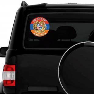 "Тематическая наклейка ""Армения"" - на авто"