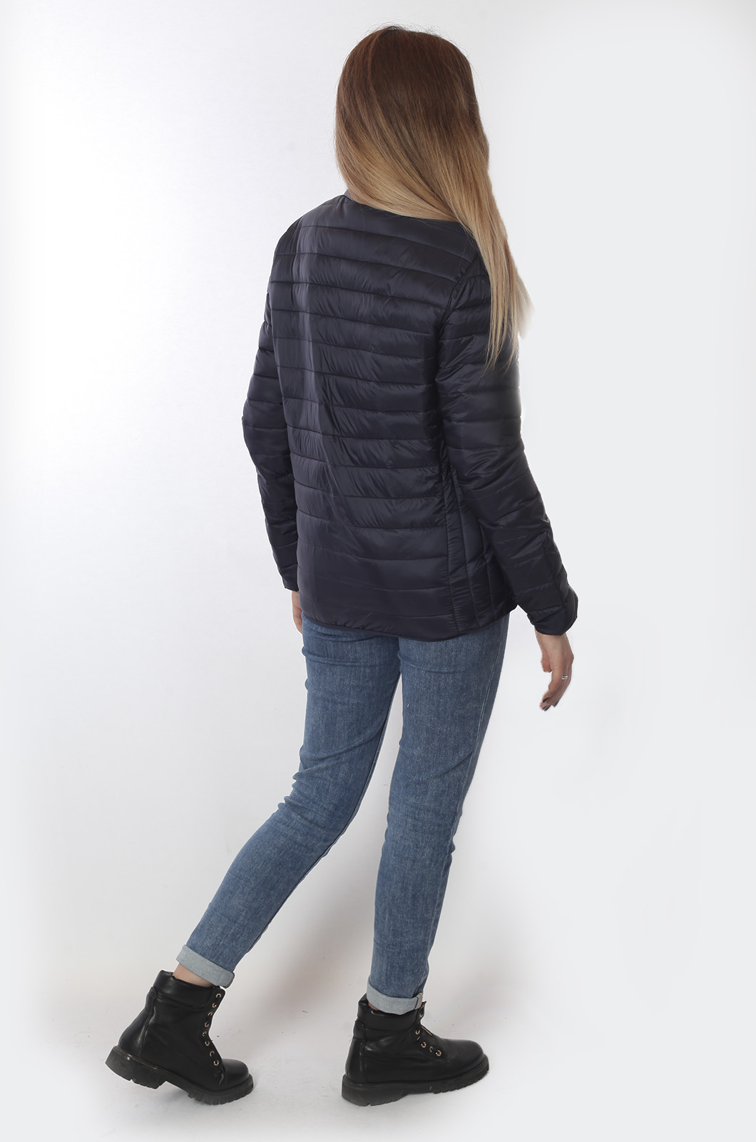 Темная демисезонная куртка от бренда J. HART & BROS - купить с доставкой