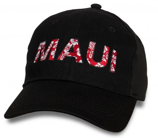 Темная оригинальная бейсболка Maui