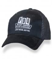 Темная оригинальная бейсболка PDQ