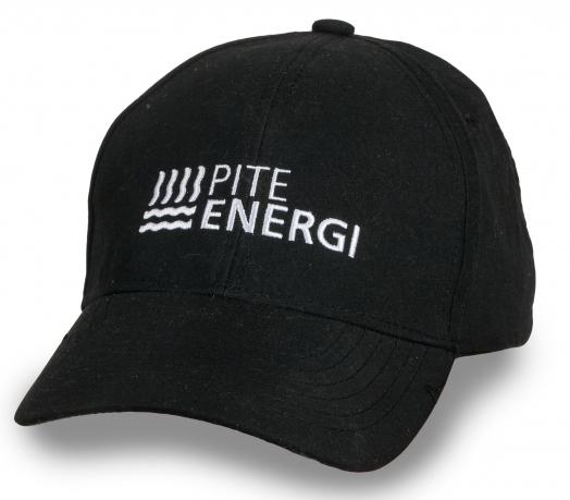 Темная строгая бейсболка Pite Energi