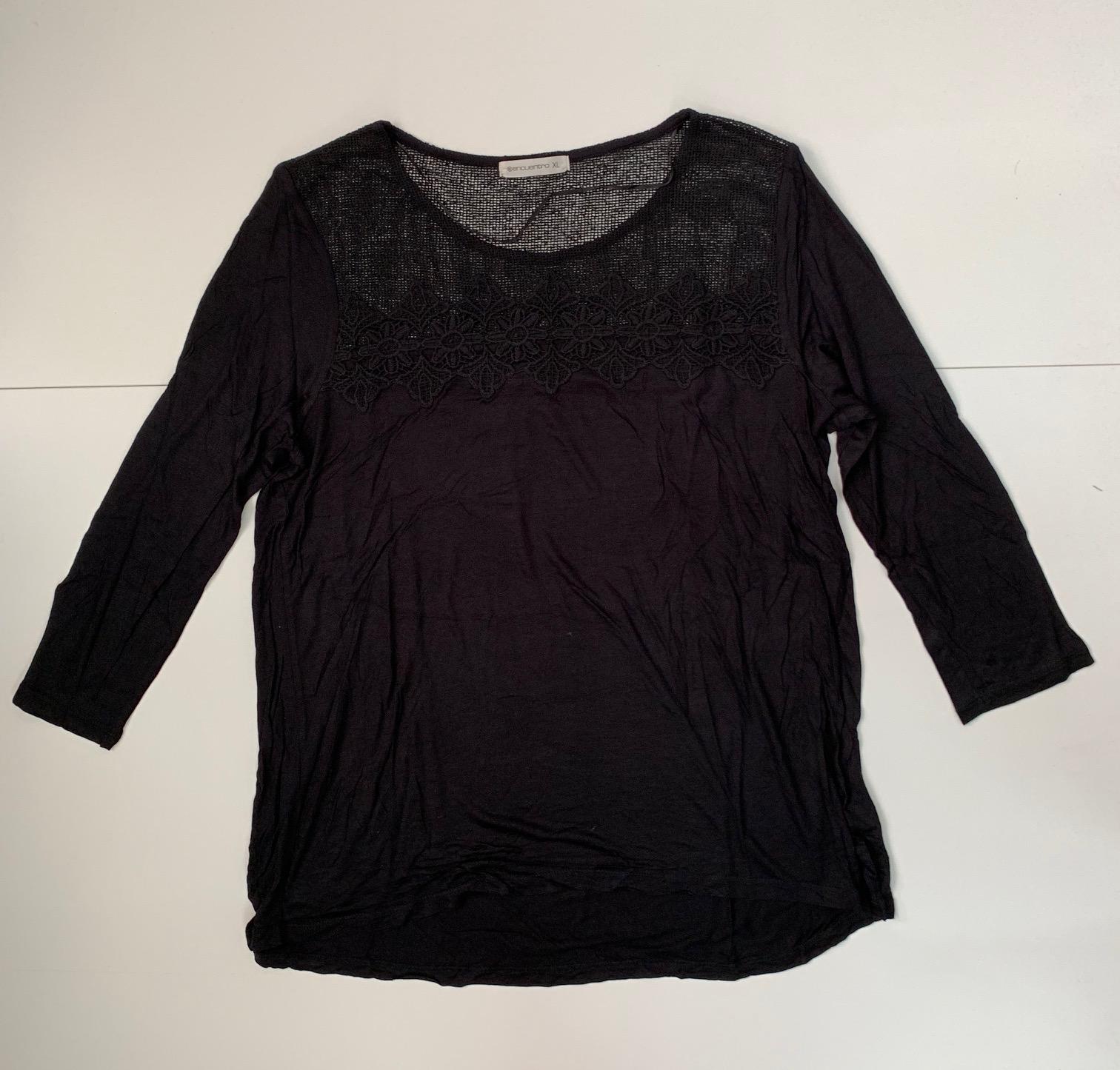 Темная женская кофточка от Encuentro