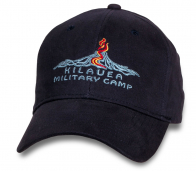 Темно-фиолетовая кепка туриста Kilauea Military Camp.