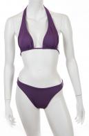 """Темно-фиолетовый купальник """"халтер"""" от Lascana."""