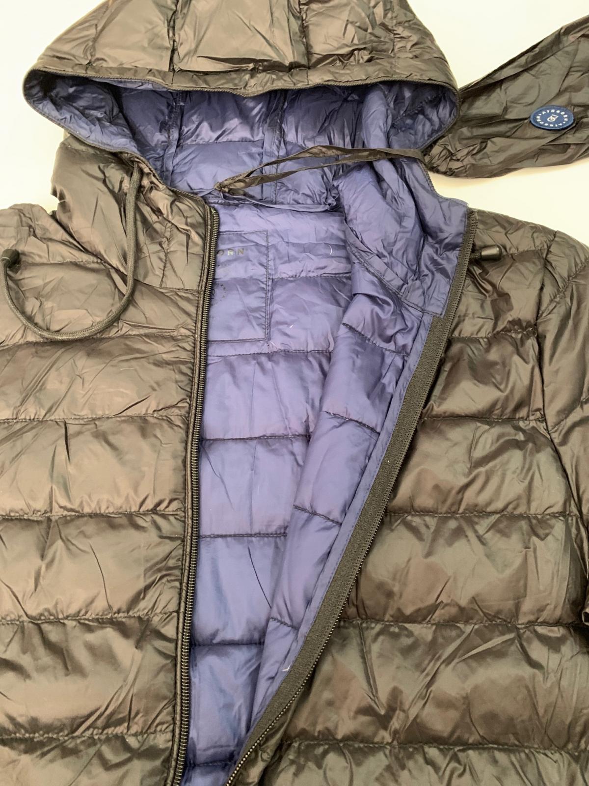Темно-коричневая мужская куртка от AIR BORN