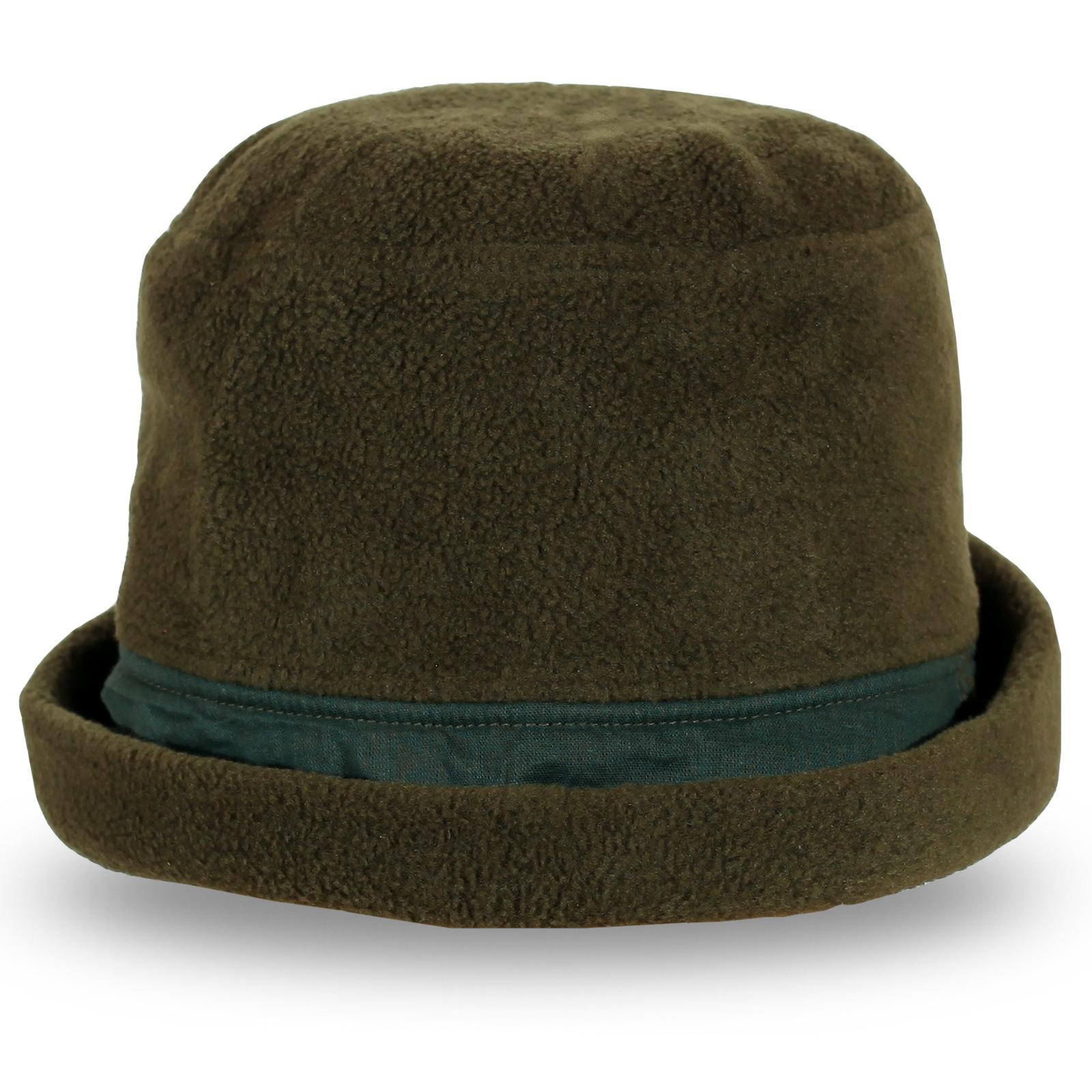 Темно-коричневая шляпа