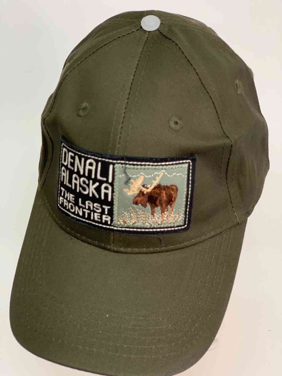 Тёмно-серая бейсболка DENALI ALASKA