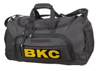 Темно-серая дорожная сумка 08032B ВКС
