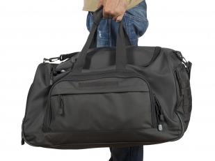 Темно-серая дорожная сумка армейского образца 08032B от Военпро