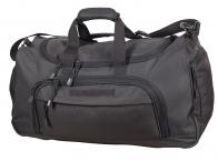 Темно-серая дорожная сумка армейского образца