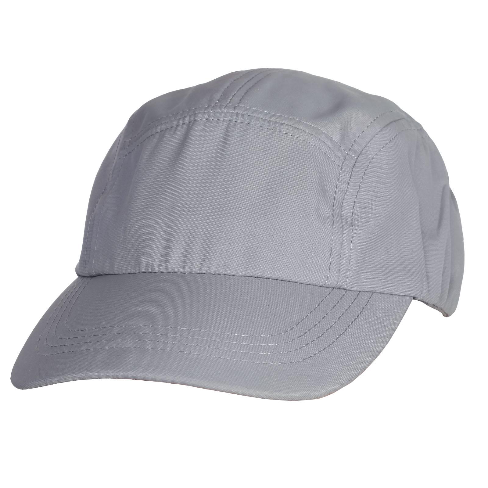Светло-серая кепка-пятиклинка