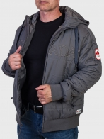 Темно-серая мужская куртка CANADA