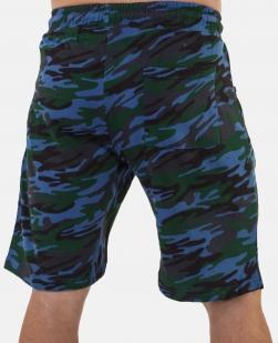 Темно-синие армейские шорты с нашивкой ФСО -заказать с доставкой