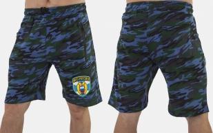 Темно-синие армейские шорты с нашивкой ФСО - заказать в розницу