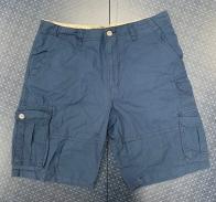 Темно-синие мужские шорты от Iron Co