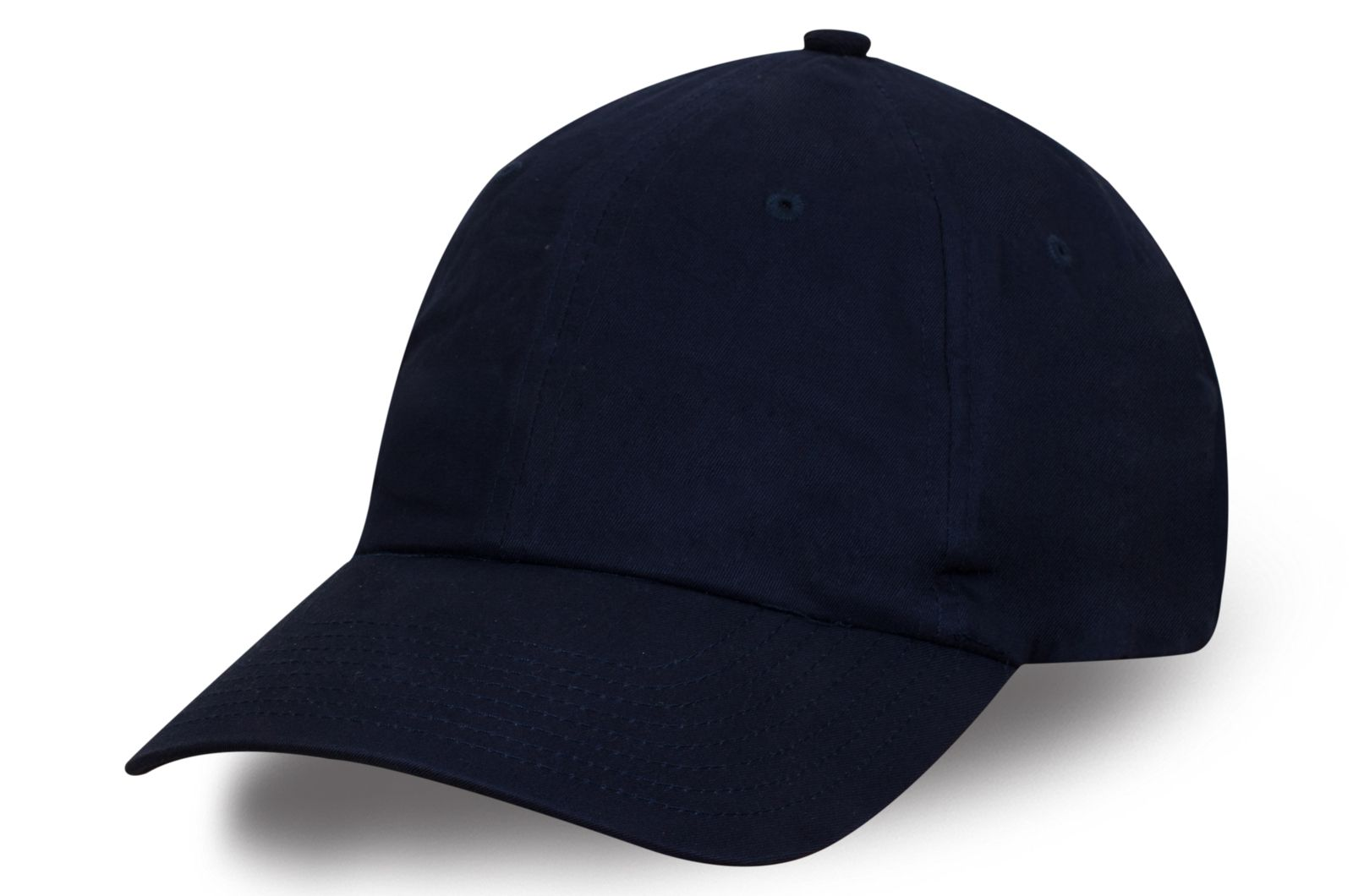 Тёмно-синяя бейсболка для стильных мужчин