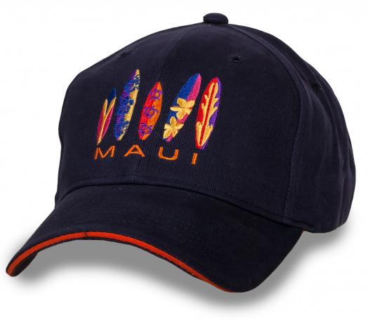 Темно-синяя бейсболка Maui