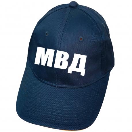 Темно-синяя бейсболка МВД