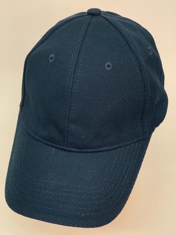 Темно-синяя бейсболка приятной текстуры