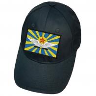 Тёмно-синяя бейсболка с флагом ВВС СССР