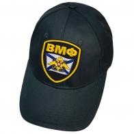 Тёмно-синяя бейсболка с нашивкой ВМФ