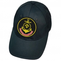 Тёмно-синяя бейсболка с шевроном Северного флота