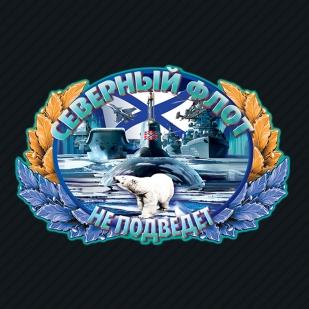 Тёмно-синяя бейсболка с термопринтом ВМФ