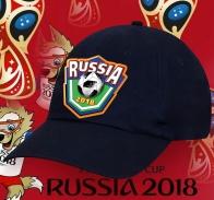 Темно-синяя фанатская бейсболка Russia 2018
